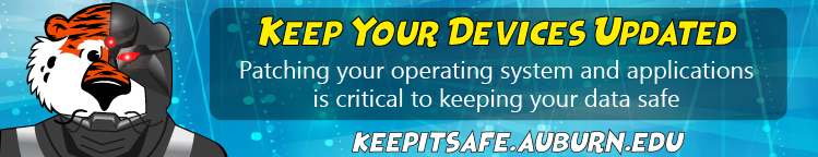 Patching your OS and apps is critical to keeping your data safe