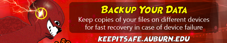 Keep copies of your files on different devices for fast recovery